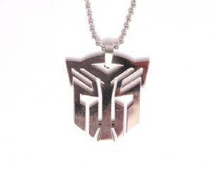 TRANSFORMERS Steel Pendant Fashion Necklace TQT - NEW - Prop Replica